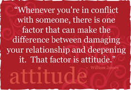 conflict attitude.william james 3